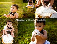 Smash the Cake :: Fotografia Infantil