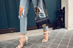 official photos 91f2f 56a5a Kenza Zouiten Paris 002 Kenza Zouiten, Chanel Mode, Swag, Le, Axelväska,  Stil Inspiration