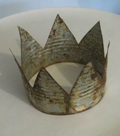 Tin Can Crown. So many possibilities!!!!