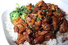 Chicken Teriyaki -- Just As Tasty as Take Out, But Less Money!