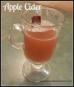 Apple Cider in the Slow Cooker/Crock Pot
