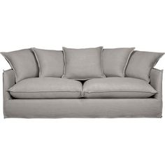 Slipcover Only For Oasis Sofa In Sofas Crate And Barrel