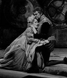 Kiri Te Kanawa & Placido Domingo in Otello #tbt