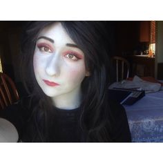 Oh dang i can't believe I didn't post this  #aradiamegido#costest#makeup#aradiacosplay#aradiamegidocosplay#hscosplay#homestuckcosplay#aradia#cosplaymakeup