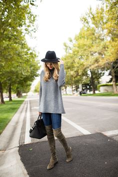Spotted on the Ivory Lane blog: The Tory Burch Merino Oversized Mockneck Tunic