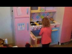 ) plays with her kitchen Kid plays with Toy Kitchen Kids Educational Toys Pretend Role Play Toy kitchen Children like role play toys and they ar. Wooden Play Kitchen Sets, Kids Play Kitchen, Toy Kitchen, Learning Through Play, Kids Learning, Educational Toys For Kids, To My Daughter, Daughters, Kids Playing