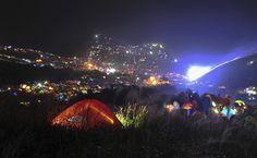 Festival de acampamento chinês atrai mais de 15 mil pessoas.