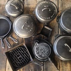 Just a few pieces from our #Griswold cast iron collection.