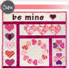 Block of the Month: Be Mine block #2