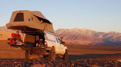 Habitat Truck Topper Truck Toppers, Camping Shelters, Popup Camper, Toyota Tacoma, Van Life, Habitats, Outdoor Gear, Monument Valley, Jeep