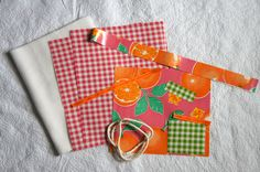Always a Project: Oilcloth, Meet iPad