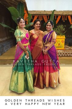 Love how vibrant Telugu culture and traditions are!