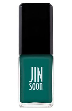 JINsoon 'Farouche' Nail Polish from Nordstrom. Shop more products from Nordstrom on Wanelo. Shiny Nails, Love Nails, Green Name, Silk Satin Fabric, Creative Nails, Nail Polish Colors, Best Makeup Products, Beauty Products, Face And Body