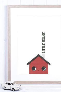 POSTER LITTLE HOUSE - APANONA