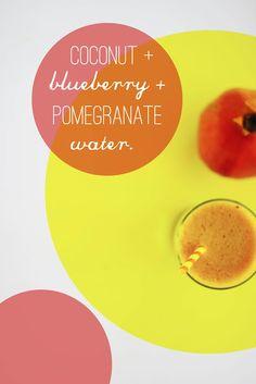 Une-deux senses: Flavored Coconut Water