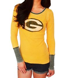 Green Bay Packers Quick Pass Thermal | SportyThreads.com