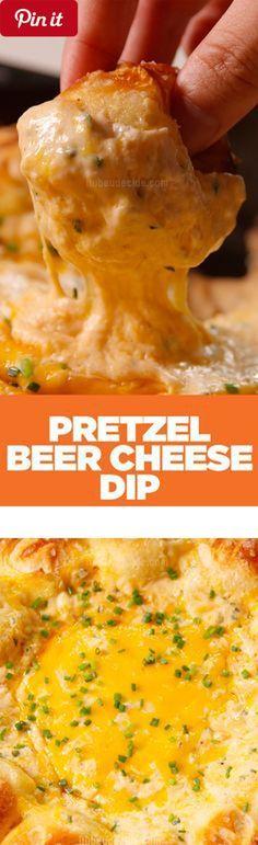 Pretzel Ring Beer Cheese Dip - This cheesy snack is the best thing to ever happen to your skillet. #delicious #diy #Easy #food #love #recipe #recipes #tutorial #yummy @Mommas Kitchen - Make sure to follow cause we post alot of food recipes and DIY we post Food and drinks gifts animals and pets and sometimes art and of course Diy and crafts films music garden hair and beauty and make up health and fitness and yes we do post womens fashion sometimes and even wedding ideas travel and sport…