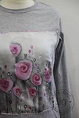 Tričká - tričko RUŽe velk.S - 5131280_