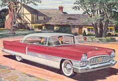 Vintage Packard illustration