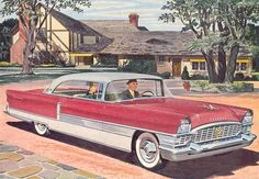 Vintage Packard illustration
