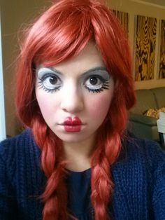 My doll makeup