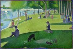 """Characters come to life from George Seurat's famous painting in Chicago Shakespeare's """"Sunday in the Park with George"""" play"""