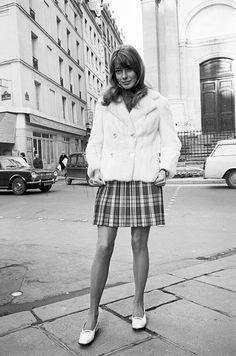 Johanna Shimkus photographed by Jean-Claude Deutsch (Paris Match) in Paris, January 29, 1968.