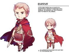 Hetalia World Stars Burrus! This time with english description!