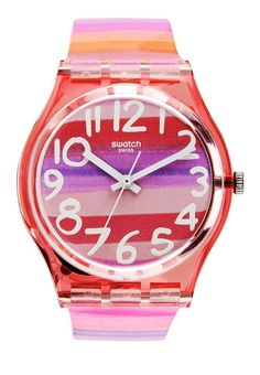 Astilbeby watch by Swatch.