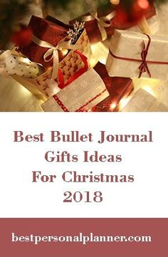 best bullet journal gift list ideas, The Holidays are around the corner and it's time to think on what to get for love ones, so let's take a look to the best bullet journal gift ideas 2018 Bullet Journal Gift List, Bullet Journal Junkies, Think On, Bullet Journal Inspiration, Planners, Bliss, Journaling, First Love, The Creator
