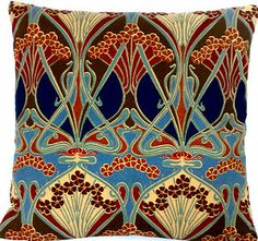 Stop me before I let myself bid on Liberty of London throw pillows on eBay.