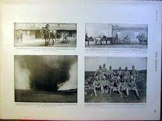 Original Old Antique Print Boer War Mafeking Officers Methuen Africa Dust 1900 | eBay