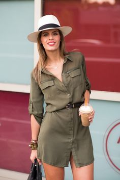 Women S Shoes European Sizes Code: 2268690766 Safari Outfit Women, Safari Outfits, Safari Dress, Moda Safari, Dress Outfits, Casual Dresses, Fashion Outfits, Womens Fashion, Vestidos Safari