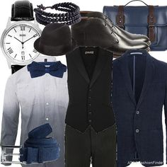 Black  | Men's Outfit | ASOS Fashion Finder .. made by me