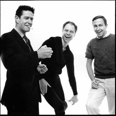 {3 favorites} John Cage, Merce Cunningham, & Robert Rauschenberg   NYC -1960 - Avedon
