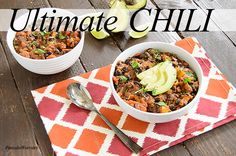 This recipe is the ULTIMATE chili in my book. Why you ask? Well, not only is the flavor amazing, hello ancho chili and smoky cumin, but you likely have all these healthy ingredients in your pantry as the ingredient list is short! This chili is vegan, low fat, full of fiber, protein, and has quite...