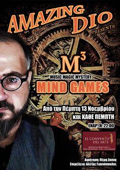 Www.AmazingDio.com - Mind Games by Dio / El Convento Del Arte