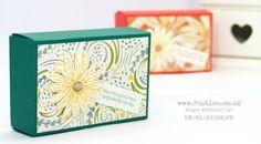 Stampin' Up! Demonstrator Pootles -Delightful Daisy Delight Fold Flat Box