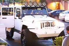 Kylie Jenner is now driving the Jeep that French bought Khloe