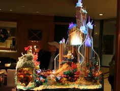 gingerbread house ideas the little mermaid