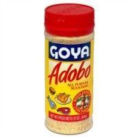 Goya Adobo Seasoning : Making food taste yummy all my life