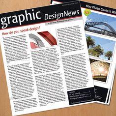 #Simple #Newsletter #Design - Newsletters Print Templates Download here: https://graphicriver.net/item/simple-newsletter-design/41771?ref=alena994