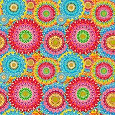 Buy from the largest marketplace of independent surface designs to create custom fabric, wallpaper & home decor items on-demand. Cool Patterns, Textures Patterns, Fabric Patterns, Spiral Art, Catching Fireflies, Button Crafts, Paisley Pattern, Pattern Wallpaper, Surface Design