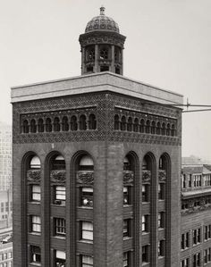 Schiller Building/ Garrick Building and Theater. 1892. Chicago, Illinois. Adler & Sullivan.
