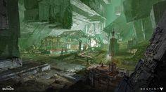 ArtStation - Destiny: Venus Dig Site, Dorje Bellbrook