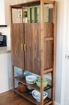 Incredible Ikea Kitchen Storage Solutions # Kitchens - Ikea DIY - The best IKEA hacks all in one place Ikea Hacks, Ivar Ikea Hack, Ikea Hack Storage, Storage Ideas, Diy Storage, Kitchen Table With Storage, Kitchen Storage Solutions, Kitchen Cabinet Storage, Kitchen Pantry