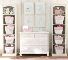 Behind the doors---Catalina Storage Tower | Pottery Barn Kids