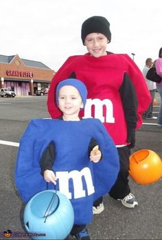 M & M's - 2013 Halloween Costume Contest via @costumeworks