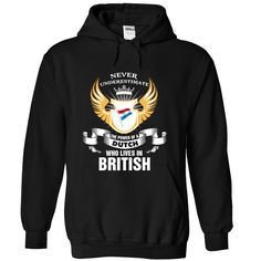 (Top Tshirt Discount) DUTCH LIVES IN BRITISH [Tshirt Sunfrog] Hoodies, Funny Tee Shirts