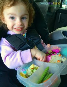 Lunches fit for a princess! | with #EasyLunchboxes containers